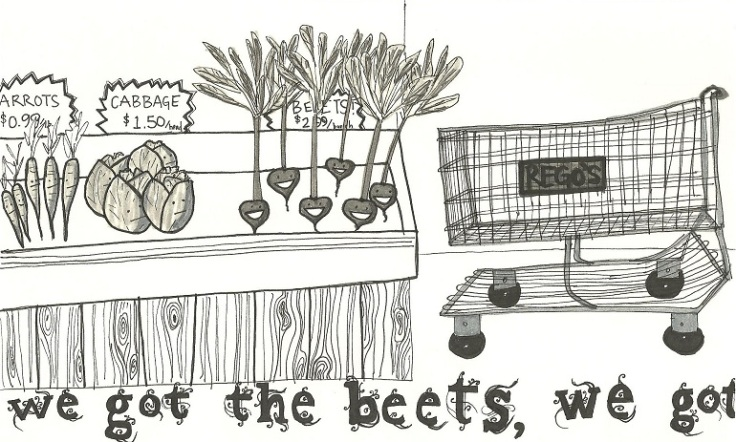 I know...you're excited about beets, too.