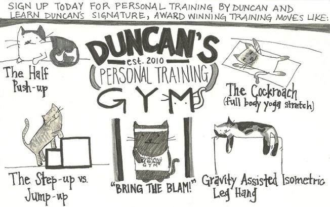 Inspired by Tony Horton.  All Duncan.