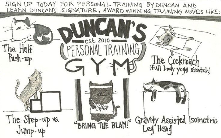 Inspired by Tony Horton.  All Duncan.