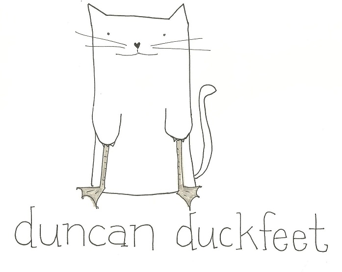 Sometimes Duncan just has to let himself go.