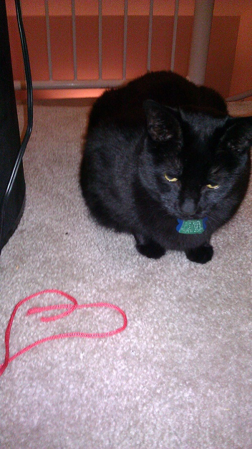 He must love us.  Or just his string.