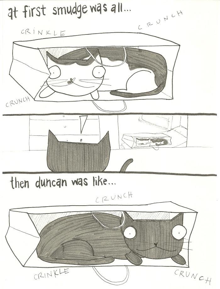 Crunch crunch crunch.